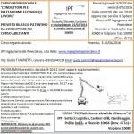 Pinerolo #Sicurezza sul #lavoro: Corsi attrezzature mese maggio 2016