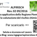 Valutazione rischio chimico – Regione Piemonte