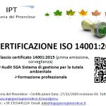 SGA Audit e certificazioni ambiente